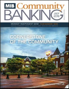 MIB Community Banking Magazine July 2018