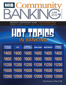 MIB Community Banking Magazine June 2019