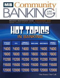 June 2019 Community Banking Magazine