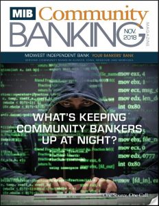 MIB Community Banking Magazine November 2018