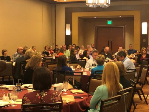 Breakfast presentation attendees at MIB Community Banking Conference
