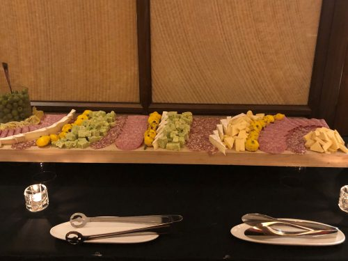 spread at MIB Community Banking Conference reception