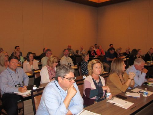 MIB Community Banking Conference attendees