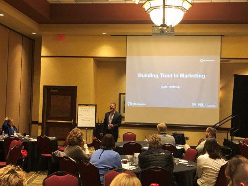 ben pankonin speaking at conference photo 2
