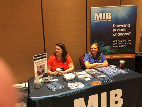 mib banc services exhibit booth photo 1