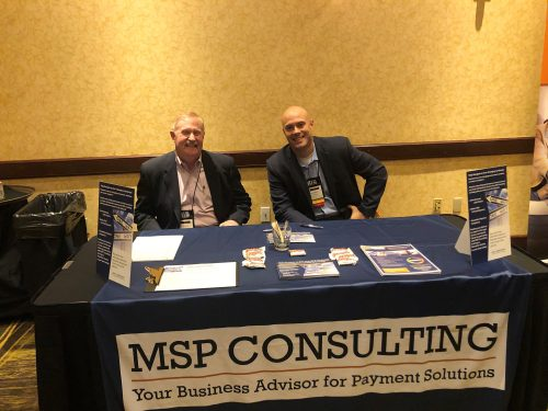 msp consulting exhibit booth 1