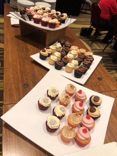 cupcakes at conference