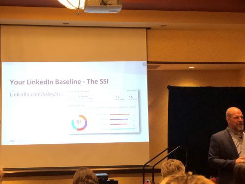 your linkedin baseline the ssi