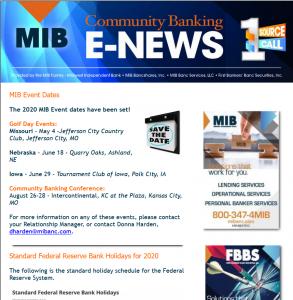 eNews - January 2020